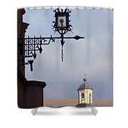 Street Lamp, Assisi Shower Curtain