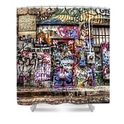 Street Life Shower Curtain