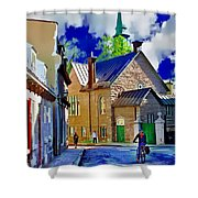 Street Life Series 01 Shower Curtain