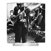 Street Musicians, 1935 Shower Curtain