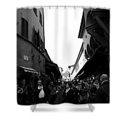 Street Of Florence Shower Curtain
