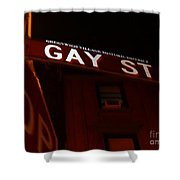 Street Of Pride Shower Curtain