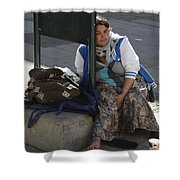 Street People - A Touch Of Humanity 10 Shower Curtain