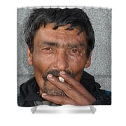 Street People - A Touch Of Humanity 17 Shower Curtain