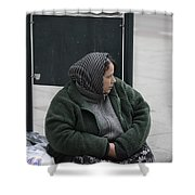 Street People - A Touch Of Humanity 9 Shower Curtain