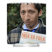 Street People - A Touch Of Humanity 11 Shower Curtain