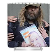 Street People - A Touch Of Humanity 12 Shower Curtain