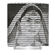 The Ethereal Woman Shower Curtain