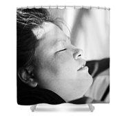 Street Sleep Shower Curtain