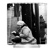Street Stories  Shower Curtain