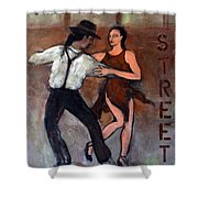 Tango Street Shower Curtain