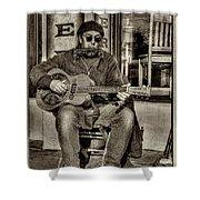 Street Tunes Shower Curtain