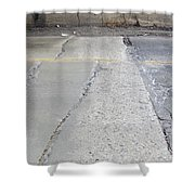 Street Under The Bridge Shower Curtain