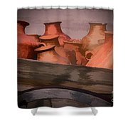 Street Wares Of Tubac Shower Curtain
