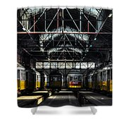 Streetcars I Shower Curtain