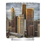 Streeterville From Above Shower Curtain