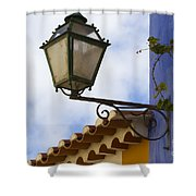 Streetlight Horizontal Shower Curtain