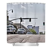 Streets Shower Curtain