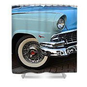 Streets Of 1956 Shower Curtain