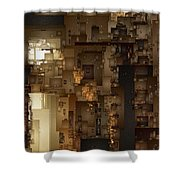 Streets Of Gold Shower Curtain