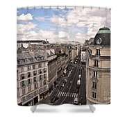 Streets Of Paris Shower Curtain