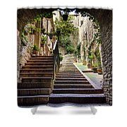 Streets Of Pisa Shower Curtain