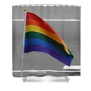 Streets Of Pride Shower Curtain