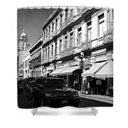 Streets Of Puebla 9 Shower Curtain