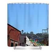 Streets Of San Miguel De Allende 2 Shower Curtain
