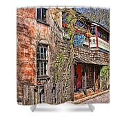 Streets Of St Augustine Florida Shower Curtain