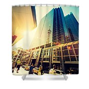 Streets Of Toronto Shower Curtain