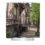 Streets Of Troy New York Shower Curtain