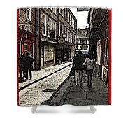 Streets Of York Shower Curtain