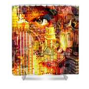 Streetwalker Shower Curtain