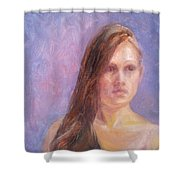 Strength And Beauty - Mariah Shower Curtain