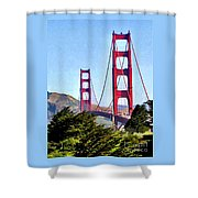 Strength In Beauty Shower Curtain