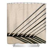 Strength In Numbers Shower Curtain
