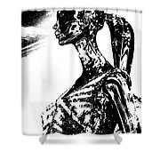 Strength Of Character 3 Shower Curtain