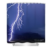 Striking The China Wall   #2006 Shower Curtain
