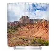 Striking Zion Shower Curtain