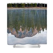 String Lake Grand Teton National Park Shower Curtain