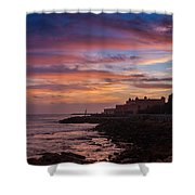 Strokes Of Sunset II Shower Curtain