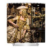 Strolling In Venice Shower Curtain