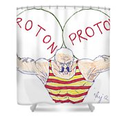 Strong Nuclear Force Shower Curtain
