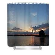 Strong Rays Shower Curtain