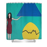 Stronger Than You Think Shower Curtain