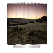 Stroud Sunrise Shower Curtain