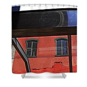 Structural Abstract 3 Shower Curtain