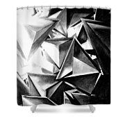 Structure Invasion Shower Curtain