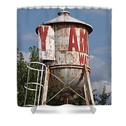 Structures Shower Curtain